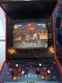 Mortal Kombat 2 Full Size Arcade Machine À Laver Uniquement No Game