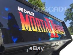 Mortal Kombat 2 II Arcade Machine Marque Nouveau Joue Ovr 1020 Classic Games Guscade