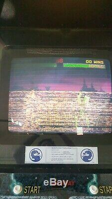 Mortal Kombat 2 Machine De Jeux D'arcade
