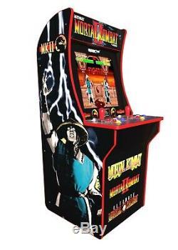 Mortal Kombat Arcade Machine, Arcade1up, 4ft (comprend Mortal Kombat I, Ii, Iii)