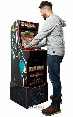 Mortal Kombat Arcade Machine Cabinet Avec Riser Arcade1up Mortal Kombat 1, 2, 3