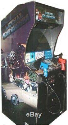 Mortelle Enforcers Arcade Machine Konami (excellent État) Rare