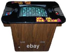 Ms Pac-man Arcade Machine Cocktail Table Par Midway 1981 (excellent) Rare
