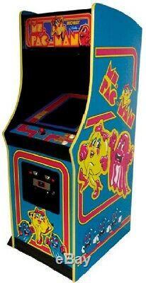 Ms Pac-man Machine Arcade Par Midway (excellente Condition) Rare