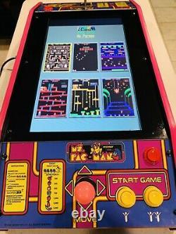 Ms. Pac-man Pink Edition Table Top (cocktail) Arcade Machine Avec 60 Jeux Classiques