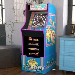 Ms Pacman Arcade Machine Avec Riser Retro Arcade Cabinet Nostalgie Nouveaux 4 Jeux