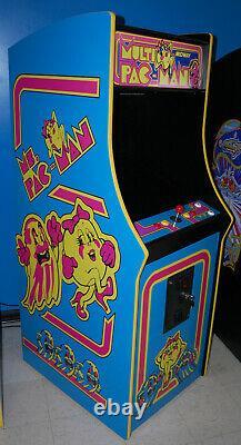 Ms. Pacman Multicade Classic Arcade Machine Plays 60 Jeux! Pac Man - Brand New