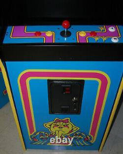 Ms. Pacman Multicade Classic Arcade Machine Plays 60 Jeux! Pac Man Brand Nouveau