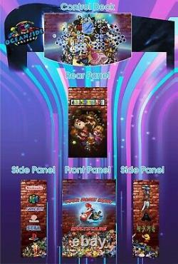 Multicade Arcade Machine Jeu Vidéo Machine Arcade Jeux Arcade Arcade