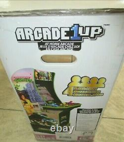 Mutant Adolescent Ninja Turtles Arcade 1up Cabinet Machine W Riser Brand New In Box