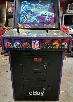 NFL Blitz 2000 Gold 2 Joueur Arcade Machine Jeu Vidéo Grand Travail