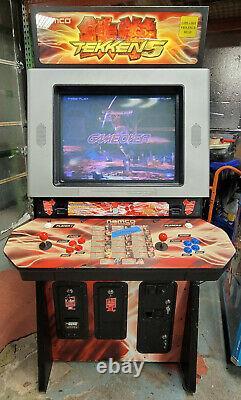 Namco Tekken 5 Full Size 2 Player Fighting Arcade Video Game Machine! Travail