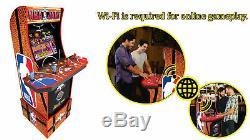 Nba Jam Arcade1up Retro Gaming Machine De Cabinet Avec Riser Avec Option Double Boxe