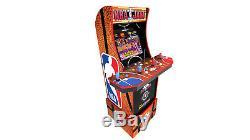 Nba Jam Arcade1up Retro Gaming Machine De Cabinet Avec Riser Par Commande Navires 7/15/20