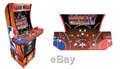 Nba Jam Arcade1up Retro Gaming Machine De Cabinet Avec Riser Par Commande Navires 7/28/20