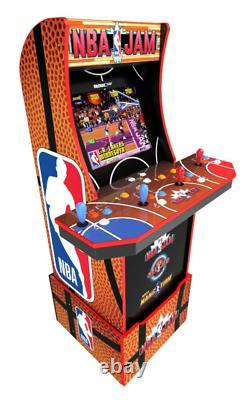 Nba Jam Arcade Cabinet Arcade Retro 1up Light Up Marquee Arcade Machine Wi Fi