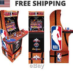Nba Jam Arcade Cabinet Retro Arcade 1up Light Up Marquee Arcade Machine Wi-fi