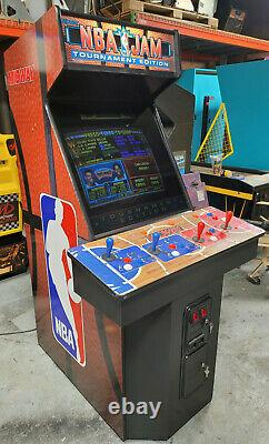 Nba Jam Tournament Edition 4 Player Full Size Arcade Video Game Machine (midway)