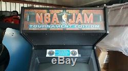 Nba Jam Tournament Edition Originale Arcade Machine- 4-player