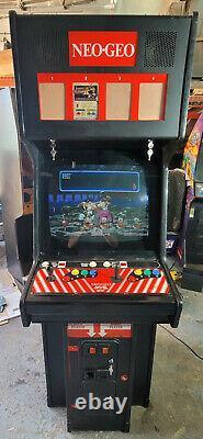 Neo Geo 4 Slot Cabinet Avec 1 Slot Pcb Avec Samourai Showdown Arcade Game Machine