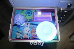 New 110v Mini Toy Griffe De Grue Game Machine Catch Candy Fun Catcher Coin Acceptor
