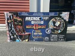 New Arcade1up Mortal Kombat Arcade Machine Inclut Mortal Kombat I, Ii, III