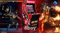 New Supreme Mortal Kombat Par Arcade1up Arcade Machine In Hand & Ready To Ship