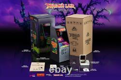 New Wave Toys, Dragons Lair X Replicade Arcade Machine Diecast Metal12 Tall