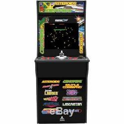 Nouveau Arcade1up 12 1 Deluxe Edition Centipede Asteroids Arcade Machine Avec Riser