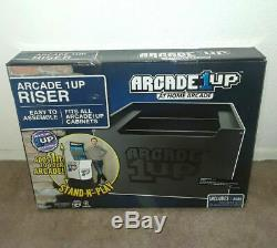 Nouveau Arcade 1up Riser Only For Accueil Arcade Video Game Machine Cabinet Fast Ship