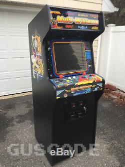Nouveau Williams Arcade Multi Joust Robotron Mario Multi Defender Machine Guscade
