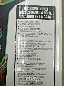Nouvelle Arcade1up Tmnt Teenage Mutant Ninja Turtles Arcade Cabinet Machine