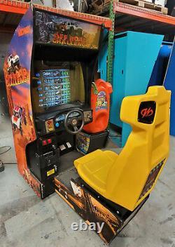 Offroad Challenge Arcade Driving Racing Machine De Jeu Vidéo Fonctionne Très Bien! Cruisin