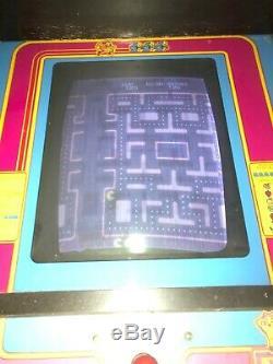 Original Machine Ms Pacman Arcade