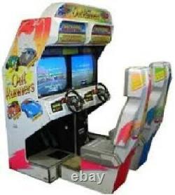 Out Runners Arcade Machine Par Sega (excellent État) Rare