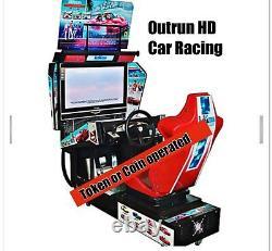 Outrun Hd Arcade Jeu Street Car Racing Commercial Coin Machine Vidéo Exploitée