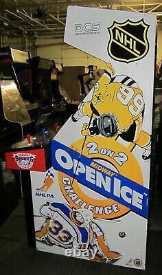 Ouvert Ice Arcade Machine Par Midway (excellent Condition)