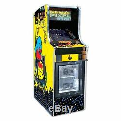 Pacman Pixel Bash Chill With Mini Arcade Game Machine Accueil Version