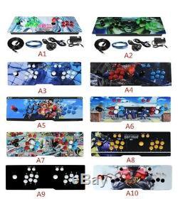 Pandoras Jeux 3d Arcade Console De Jeux Vidéo 2448 Machine Classic Arcade Métal