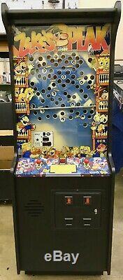 Peak Zeke Arcade Flipper. Très Rare! Refait À Neuf