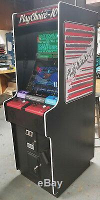 Playchoice 10 Nintendo Machine De Jeux Vidéo Arcade À Double Moniteur Classic! 10 Jeux