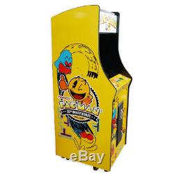 Pleine Grandeur Vertical Machine Arcade Avec 60 Pack Jeu Classique