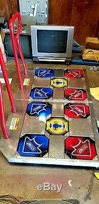 Pump It Up Machine D'arcade Andamiro T Ddr Dance Revolution Piu Prime Fiesta