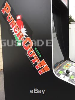 Punch-out! Arcade Machine Nouveau Full Taille Nintendo Punch Out Double Écran Guscade