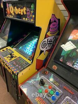 Qbert Arcade Machine Jeu Original Qbert @! #@! Taille Réelle