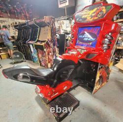 Quick Et Furious Super Bikes Motorcycle Arcade Driving Vidéo Jeu Machine