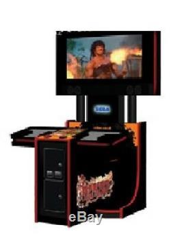 Rambo Arcade Machine Par Sega (excellent État)