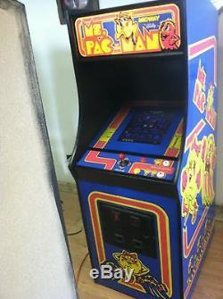 Restauré Mme Pacman Arcade Machine, Aménagee