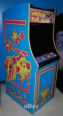 Restauré Mme Pacman Arcade Machine Upgraded Pour Jouer 60 Jeux! Pac-man