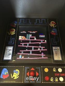 Restauré Noir Pacman Arcade Machine, Aménagee